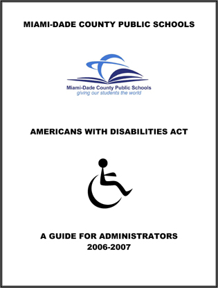 Research paper americans disability act